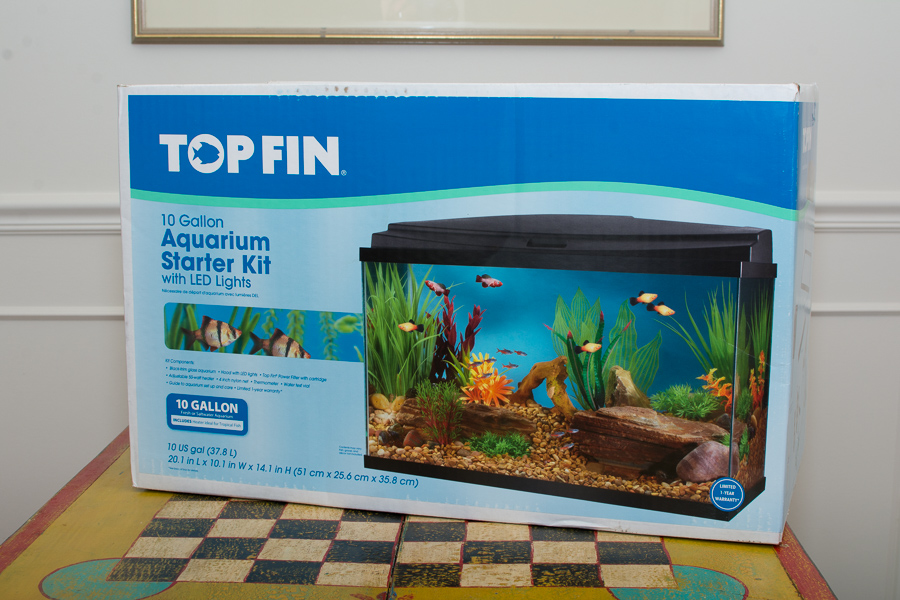 product review: topfin 10 gallon led starter kit – a dad's adventures