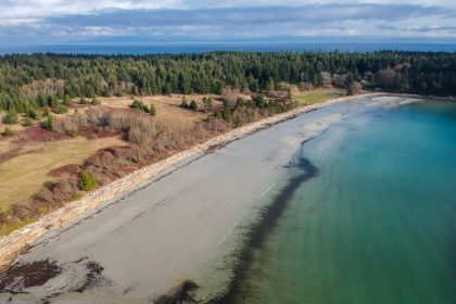Tribune Bay - Hornby Island by Tyler Ingram