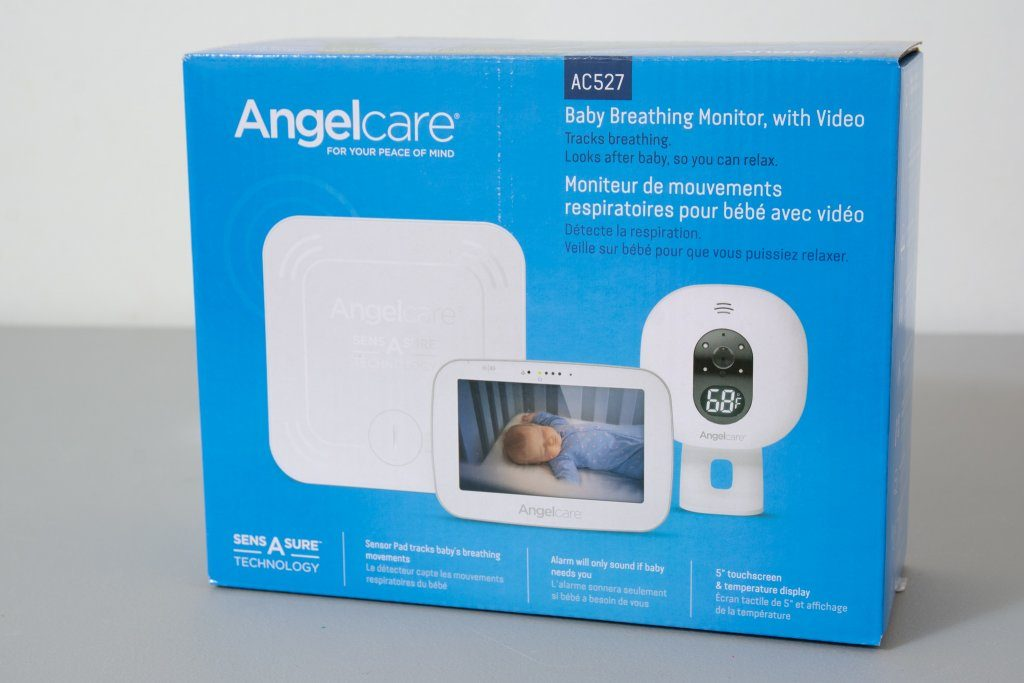 Angelcare AC527 Baby Breathing Monitor - Box